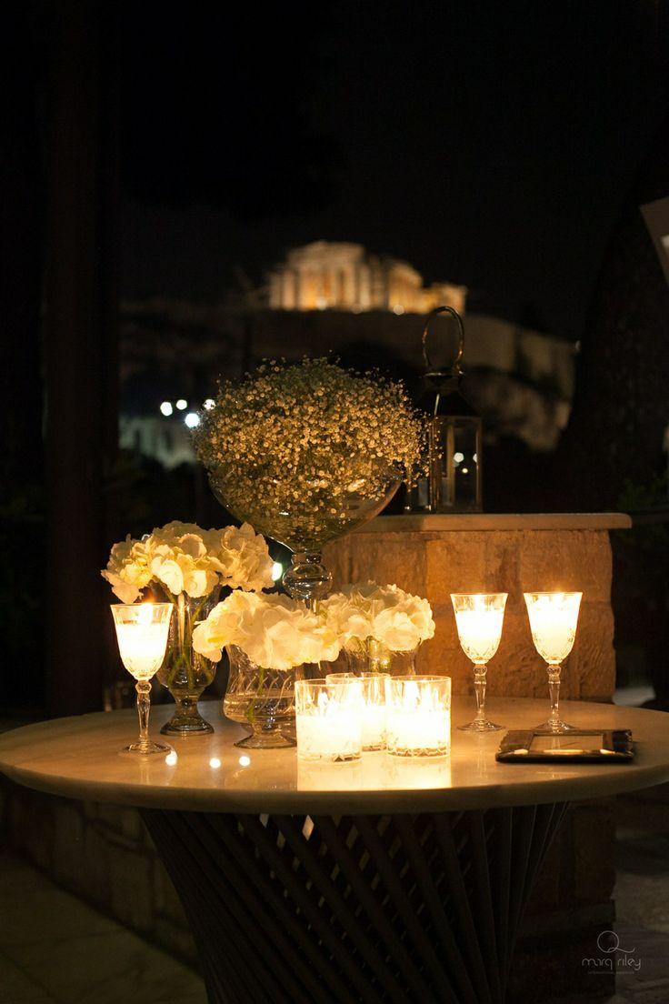 Magic lights, the Acropolis Hill... It's like a memory from a dream!