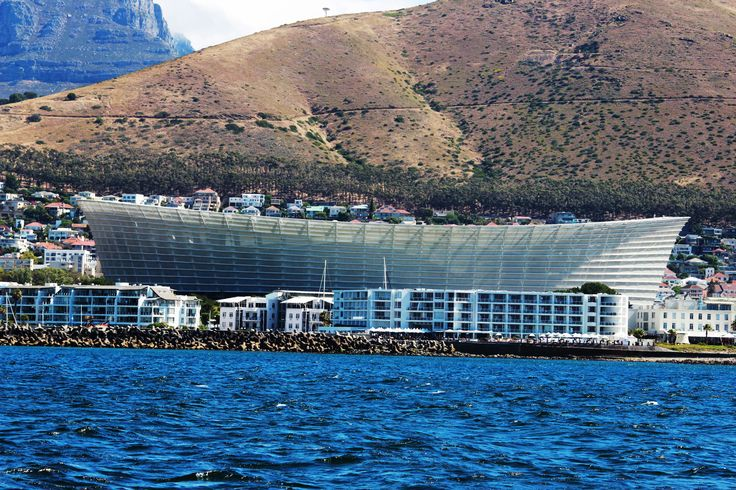 The Cape Town Stadium (Afrikaans: Kaapstad-stadion