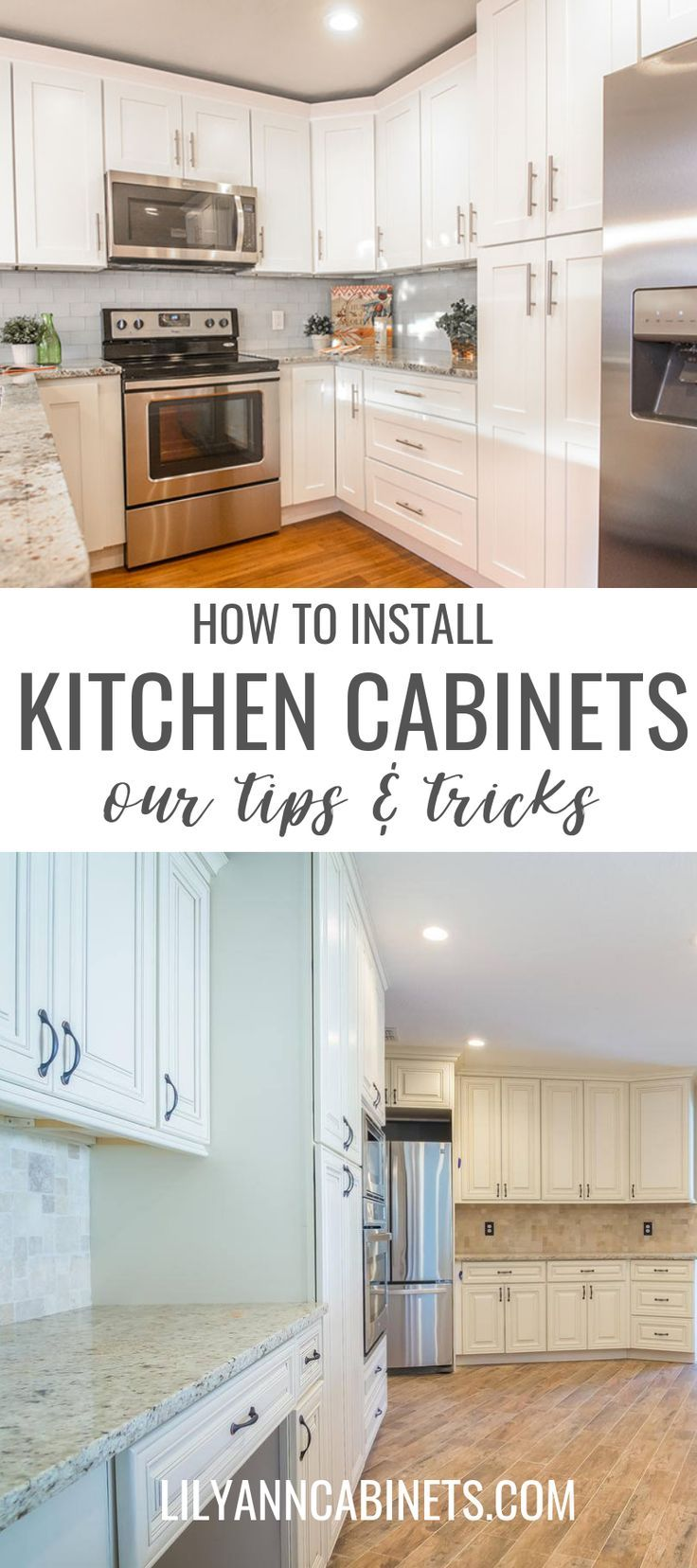 How To Install Kitchen Cabinets Cottage Kitchen Design Installing Kitchen Cabinets Kitchen Cabinets