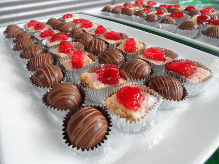 fresas y chocolate...muy buena combicacion!!!