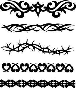 Tribal Armband Tattoos - really like the first and second ones