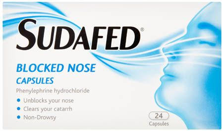 Sudafed Blocked Nose Capsules 24 Sudafed Blocked Nose Capsules 24: Express Chemist offer fast delivery and friendly, reliable service. Buy Sudafed Blocked Nose Capsules 24 online from Express Chemist today! (Barcode EAN=3574660593051 http://www.MightGet.com/january-2017-11/sudafed-blocked-nose-capsules-24.asp