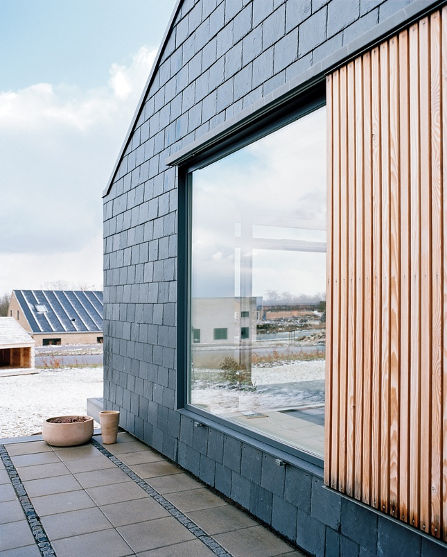 Modern Exterior Home Siding: Douglas Fir Siding