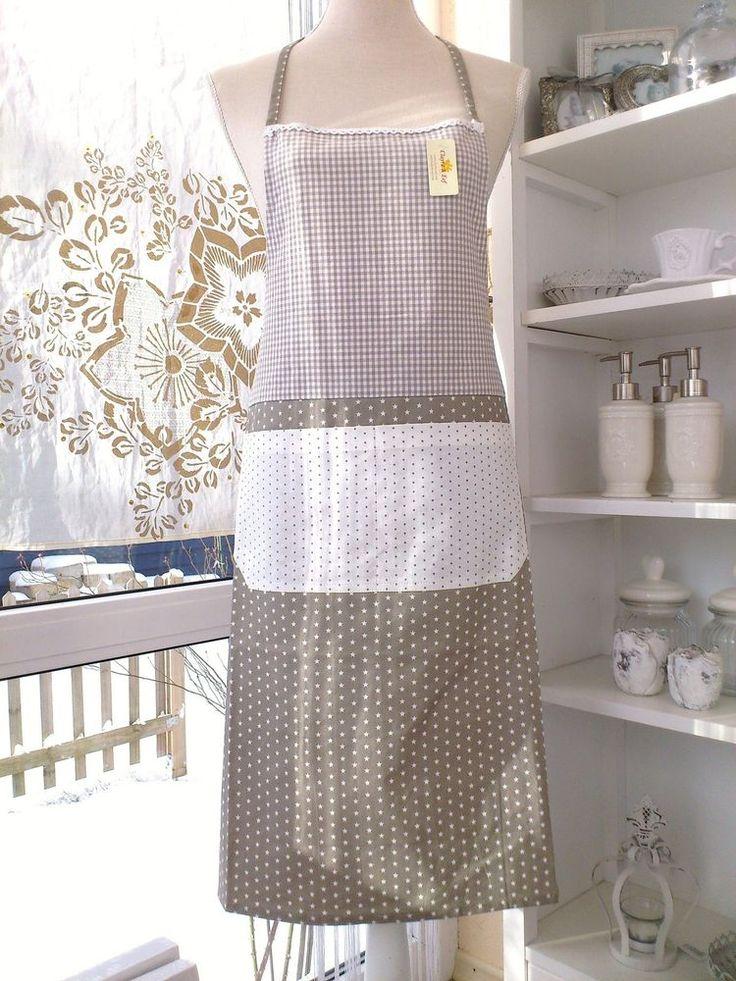 CLAYRE & EEF Küchenschürze SCHÜRZE TWINKLE LITTLE STAR Sterne Kochschürze Shabby in Möbel & Wohnen, Kochen & Genießen, Küchentextilien | eBay!