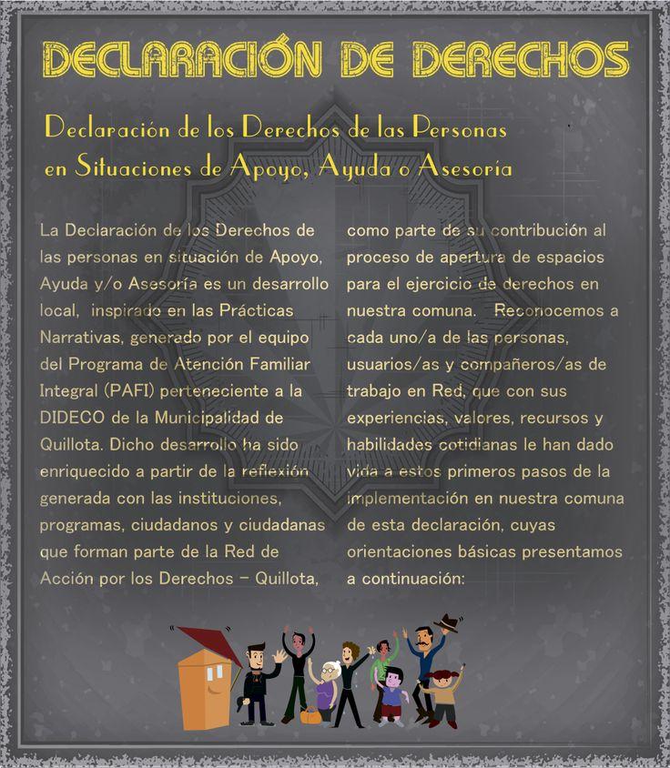 """Resumen proyecto """"Declaración de derechos"""""""