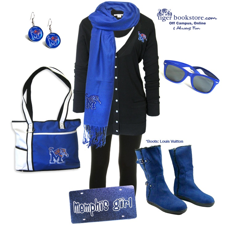 Memphis Tigers Game Day look! @marco palma Athletics #memphis #tigers #gameday