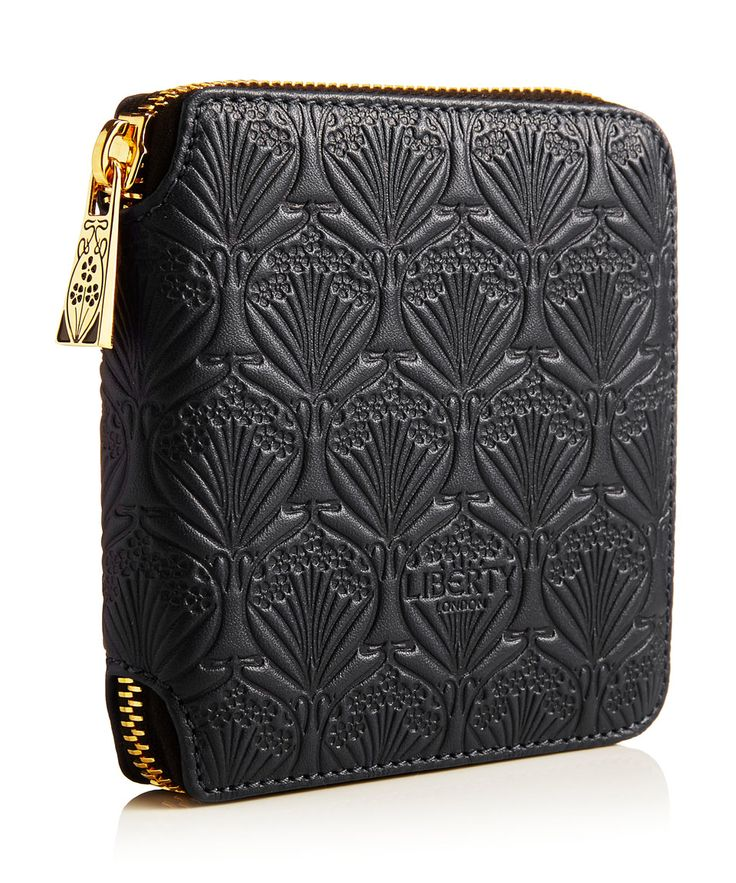 Liberty London Small Iphis Leather Zip Around Wallet | Accessories | Liberty.co.uk