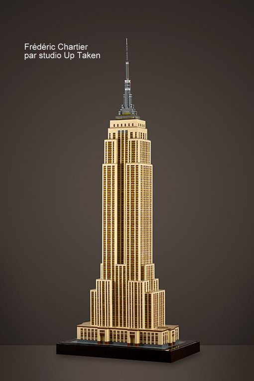 Lego Architecture Instructions Empire State Building