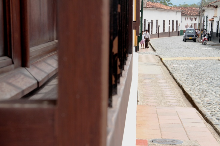 Una calle colonial