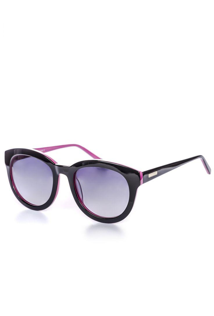 Dwukolorowe okulary
