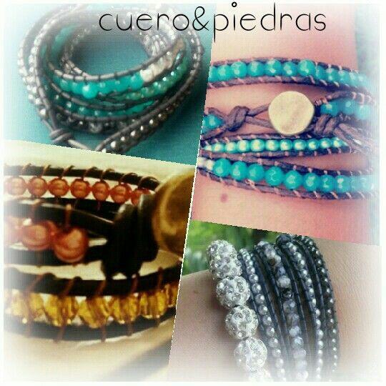 Mix Cuero&Piedras haz la combinación que Tencanta!!