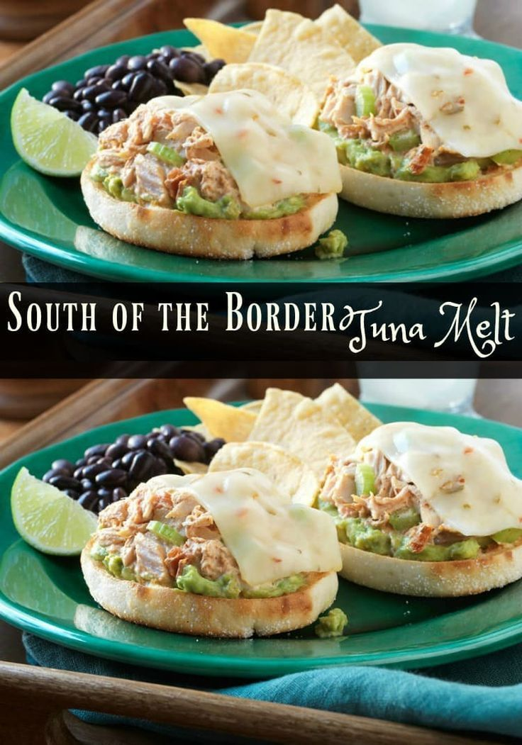 This is no ordinary sandwich. South of the Border Tuna Melt Recipe is a new family favorite. It's on the menu plan every month. Sponsored