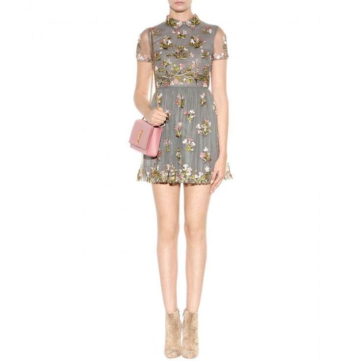 Embelli Tulle Mini-robe ☼ Valentino: mytheresa