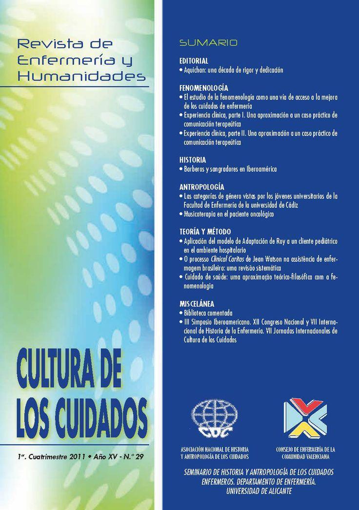 Revista de Enfermería y Humanidades.