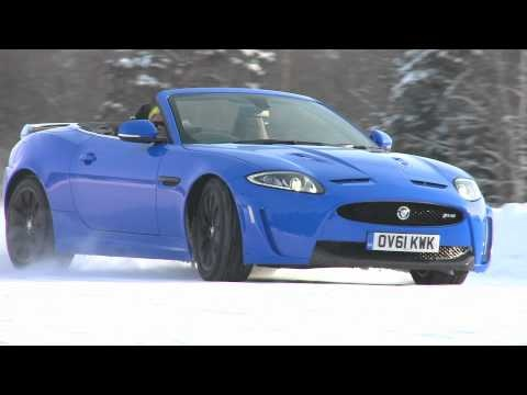 The XKR-S Convertible On Ice, see the video here http://www.lookers.co.uk/jaguar/news/jaguar-xkrs-on-ice