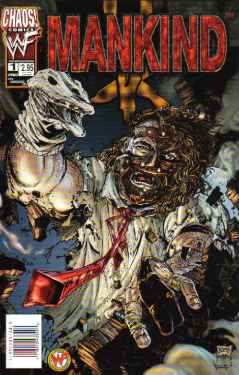 wwe mankind 1 september 1999 comic book