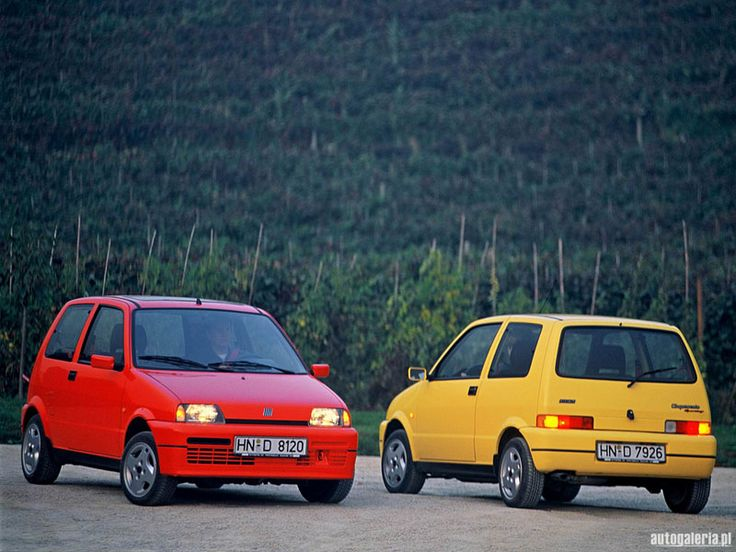 The Fiat Cinquecento from 1992