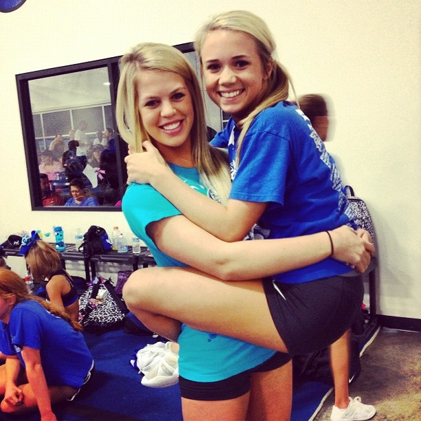 Carly Manning cheer   http://forever-cheering.tumblr.com/post/33463843702 #cheer  #KyFun