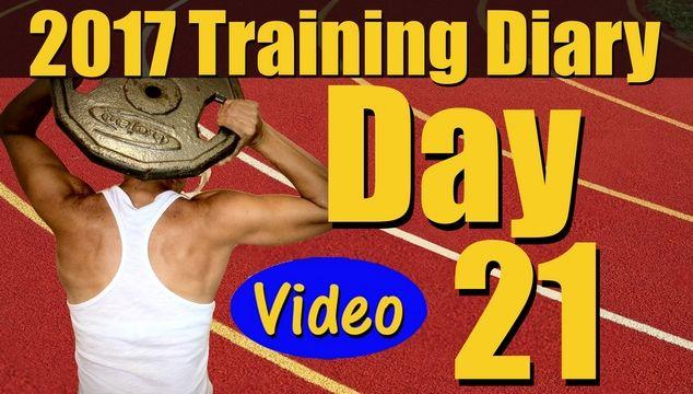 2017 Training Diary: Day 21
