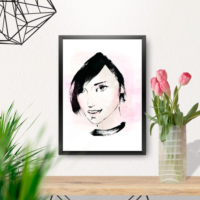 """Female face"" illustration Made by Danilo De Donno (Stylographic) www.danilodedonno.com © ALL RIGHT RESERVED #fashionillustration #fashionillustrator #fashion #illustration #illustrator #graphic #design #style #vogue #glamour #drawing #painting #fashiondesign #print #poster #wallart #decor #moda #digitaldesign #art #digitalart #woman"