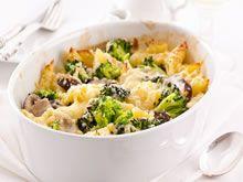 pasta met broccoli en champignons http://www.budgetkoken.be/pastagerechten/pasta-met-broccoli-en-champignons.php