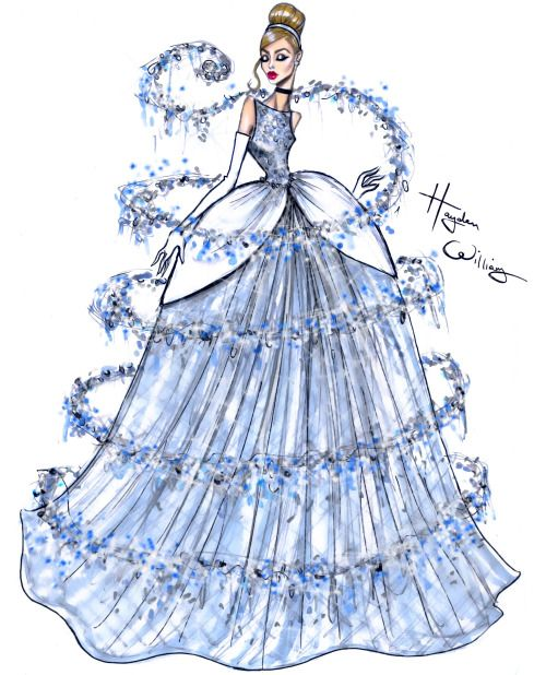 Check out my latest collab with Disney, to celebrate the release of their new streaming service DisneyLife. This piece was inspired by the iconic scene from Cinderella where the fairy godmother transforms her dress into the stunning gown we all know. This particular scene was one of my favourites to sketch when i was a child.