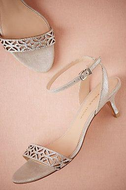 Crystal Kitten Heels