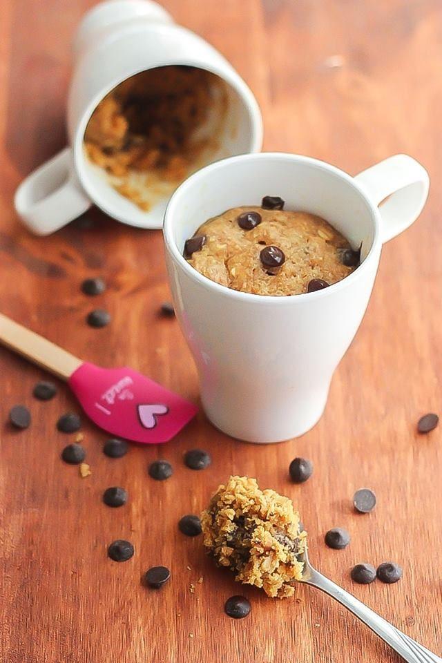 Gluten Free Peanut Butter Chocolate Chip Mug Cake   Recipe ...