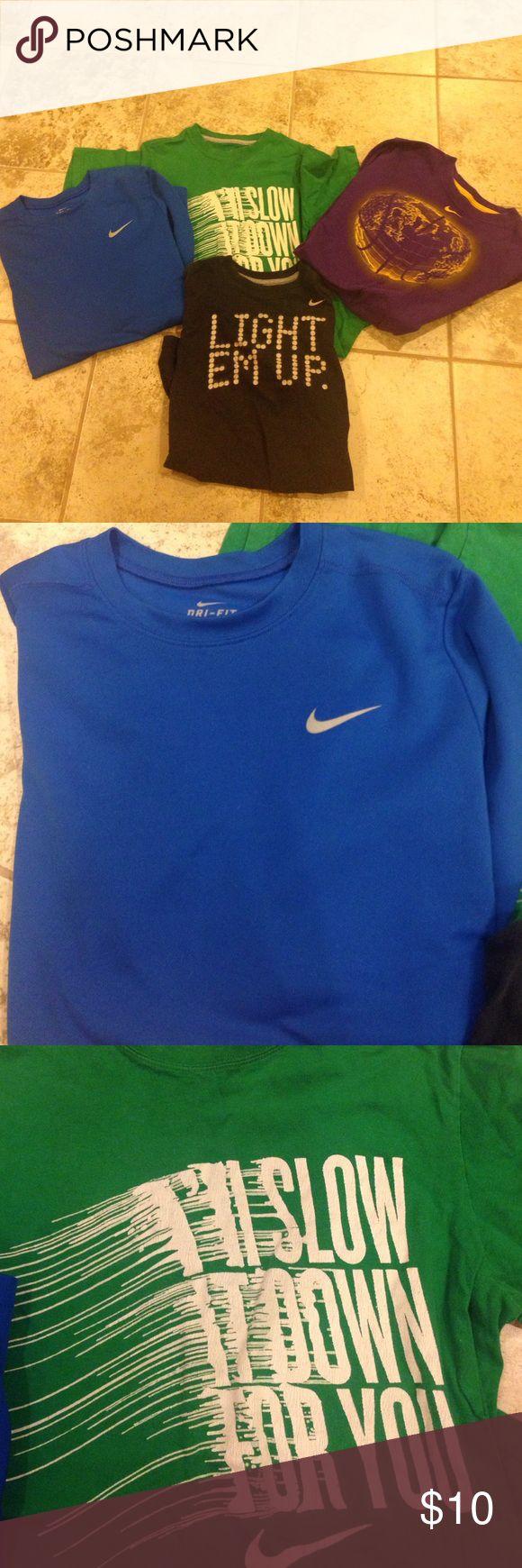 Boys Nike LOT Size Large XL Purple Long Tshirt Boys Nike LOT Size Large XL Purple Long Tshirt Nike Shirts & Tops Tees - Short Sleeve