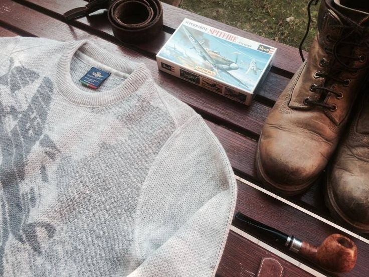 #knitwear #aviation #history #MadeinItaly