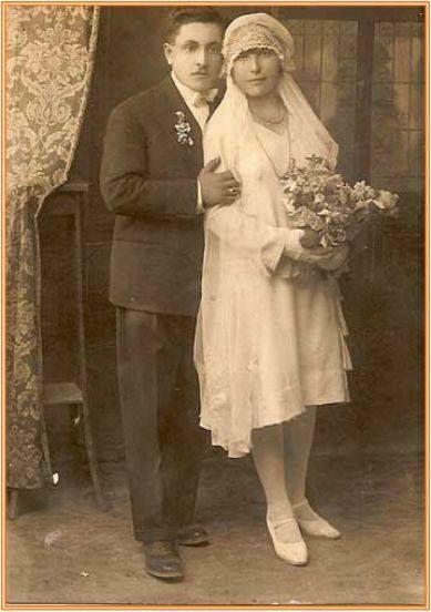 A newlywed Greek couple from Adana.