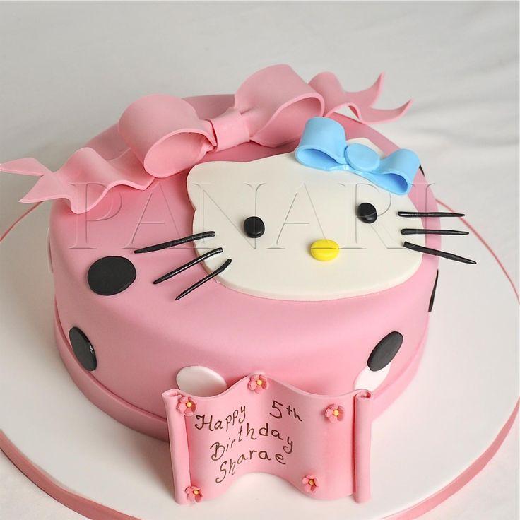 Hello Kitty Handmade Cake