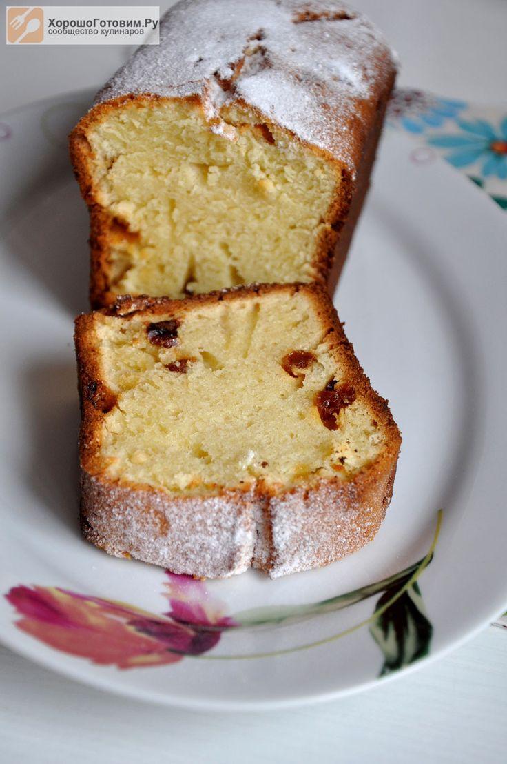 Творожный кекс (почти по ГОСТу)  Автор: Людмилa Семенюк