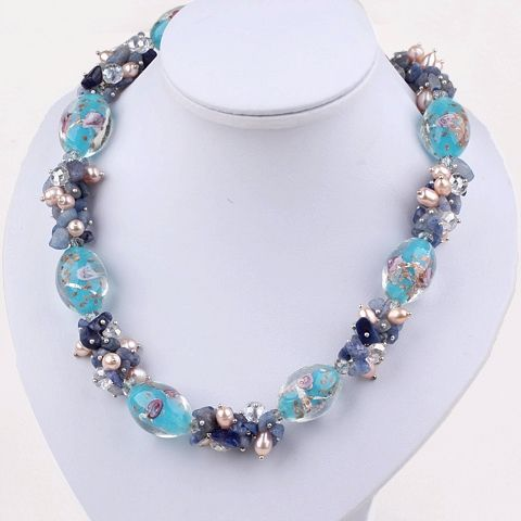 Найти ещё Массивные ожерелья Сведения о Элегантный дизайн синий серии жемчужина кристалл глазурь и кианит ожерелье, высокое качество хрустальный шар кулон ожерелье, Китай кристалла лист ожерелье поставщиков, Бюджетный кристалла голову водки свет из Lucky Fox Jewelry на Aliexpress.com