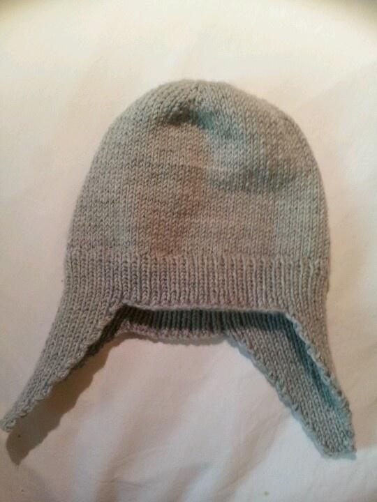 Viking helmet hat - pattern Drops design