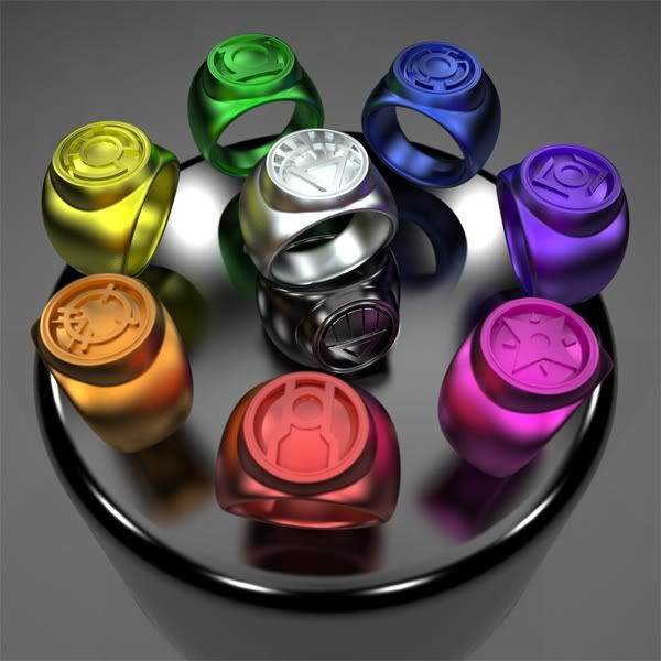 Green Lantern Ring Only the White ...