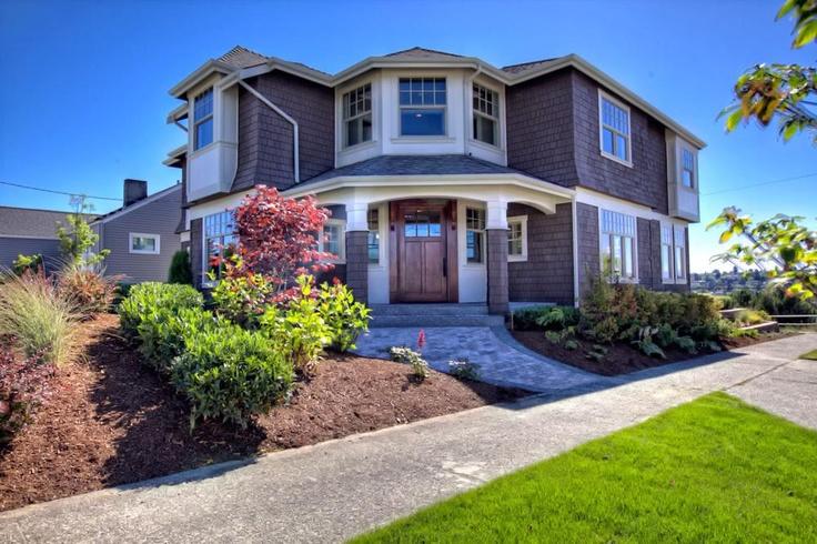 Custom home we built in Queen Anne (Seattle, WA).