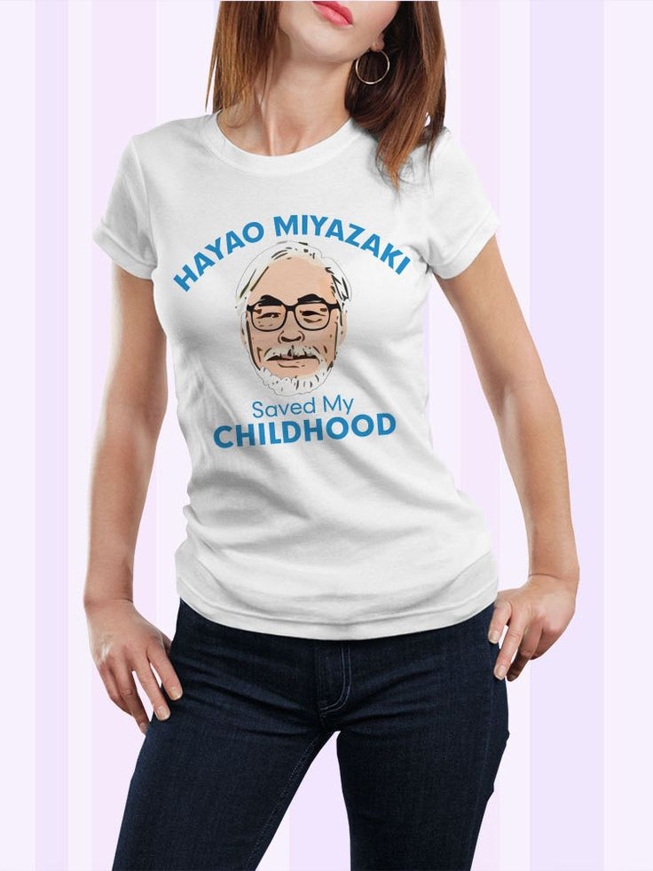 Hayao Miyazaki T-Shirt #shutupandtakemyyen #tshirt #tee #hayaomiyazaki #miyazaki #animemerch #animemerchandise #anime #totoro #mynieghbortotoro #spiritedaway #ponyo #howlsmovingcastle