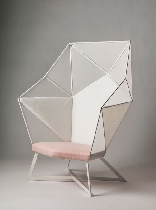 A Brilliant Chair by Eva Fly