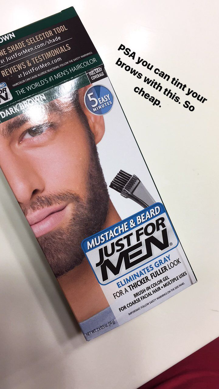 I Used Men S Beard Dye On My Eyebrows This Is What Happened Beard Dye Dye Eyebrows Eyebrow Tinting