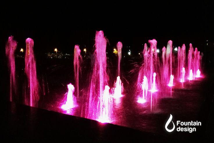 Park Dry Fountain