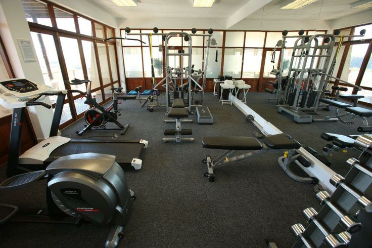 Our fully equipped gym