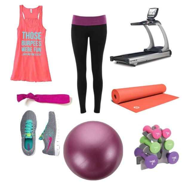 Yoga Pants Outfits Polyvore - More - 36.8KB