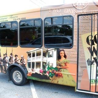 Get to know Miss Scarlett on a Gone with the Wind Tour through Jonesboro, Georgia