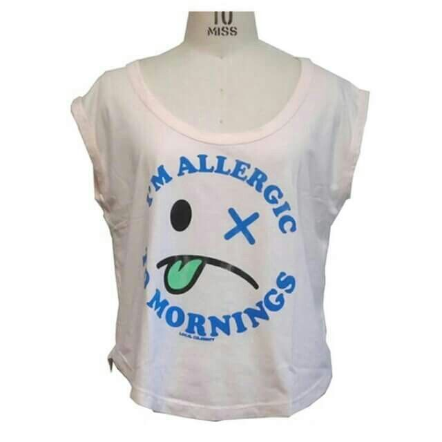 ユニーク アメカジ tシャツ♪   各ショップ  https://www.facebook.com/LEtoileBeaute    ・ 楽天 http://item.rakuten.co.jp/letoilebeaute/allergic-to-mornings-muscle-tee/  #レトワールボーテ #fashion #tシャツ #カットソー #夏 #コーデ