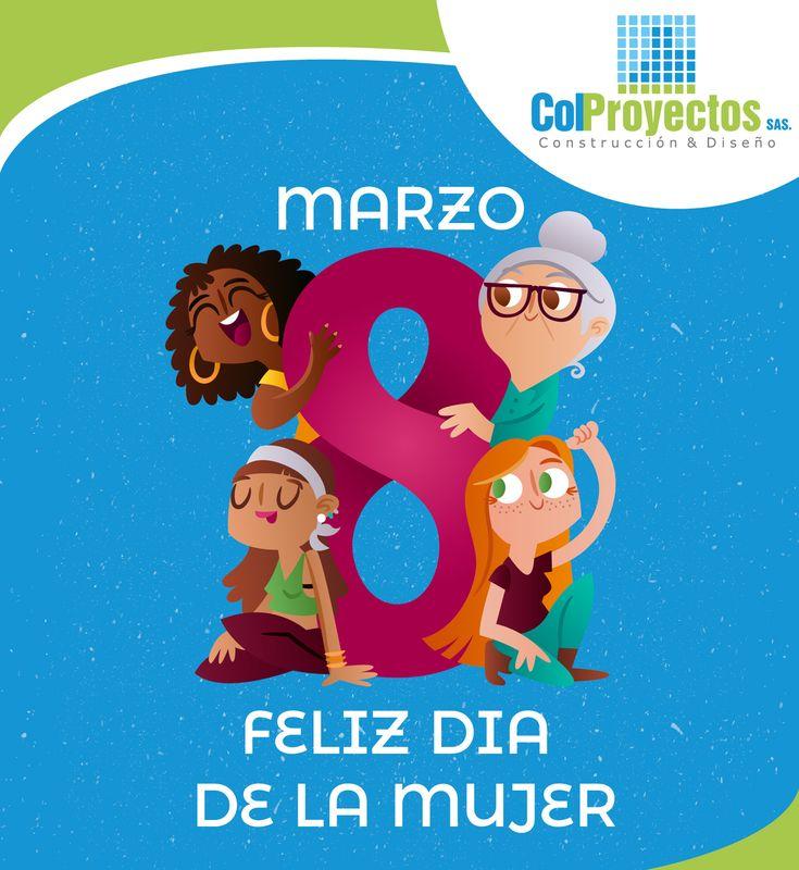Feliz Día de la Mujer: a ti mujer, madre, esposa, hermana, novia, amiga. A ustedes las mujeres, fuente insustituible de la vida, apoyo, esperanza y calidez para los hombres y las civilizaciones. ¡Feliz 8 de Marzo!