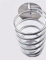 1 Spiral Blow Dryer Stand/flat Hair Iron Holder J0610-5 >>> For more information, visit image link.