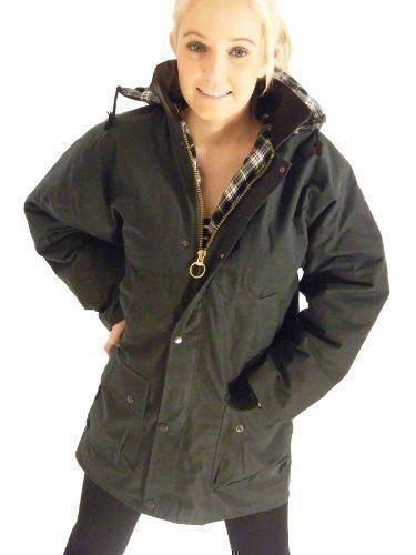 Campbell Cooper New British Wax Cotton Jacket Coat Padded: Amazon.co.uk: Clothing