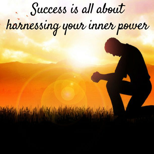 Success is all about harnessing your #innerpower and reach the zenith and be happy too.  Learn how to harness your inner power.