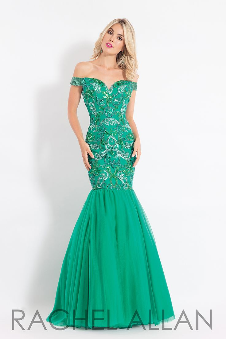 121 best Green Dresses images on Pinterest | Ball gowns, Evening ...